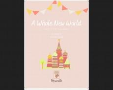 A whole new world - Aladdin (pdf.file)