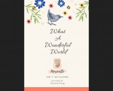 What a wonderful world - Louis Armstrong (pdf.file)